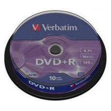 VERBATIM-DVD+R 4.7GB 10U