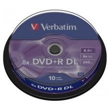 VERBATIM-DVD+R DC 8.5GB 10U