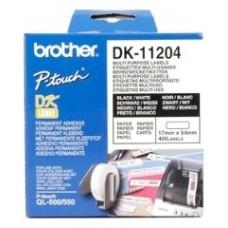 ETIQUETAS BROTHERQUETA DK11204