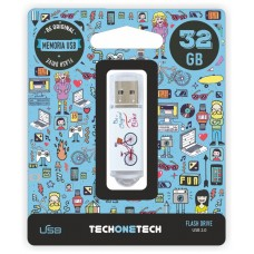 PENDRIVE TECH1TECH-BE BIKE 32GB